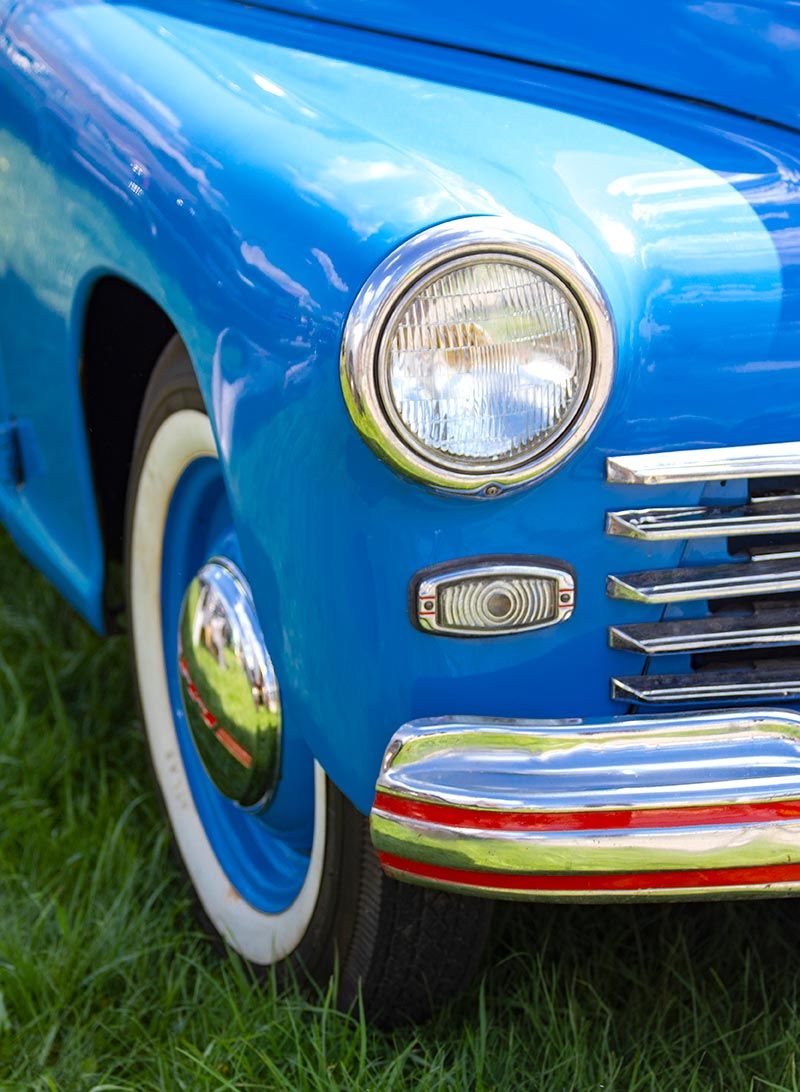 Exhibition of retro cars repaired by Carolina Collision.