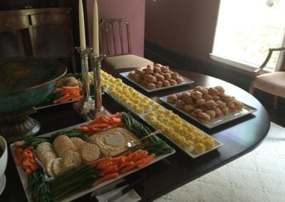 Celebration-of-Life-Hors-d'oeuvre-Display