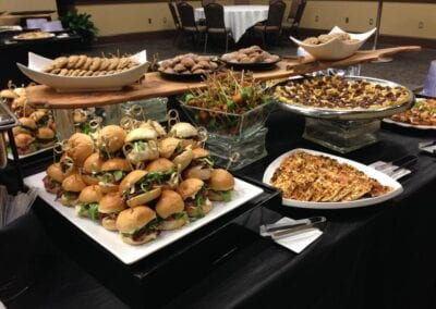 Corporate-Lunch-Hors-d'oeuvre-Buffet