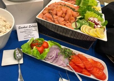 Kiddush-Smoked-Salmon-Display