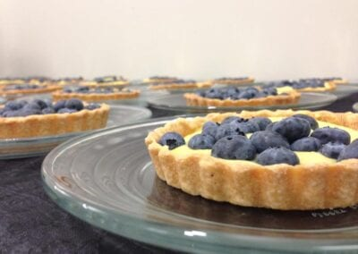 Lemon-Blueberry-Tarts
