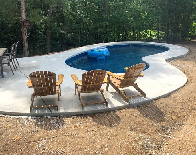 Nick's Pool Service | Fort Mill, SC | concrete built-in pool