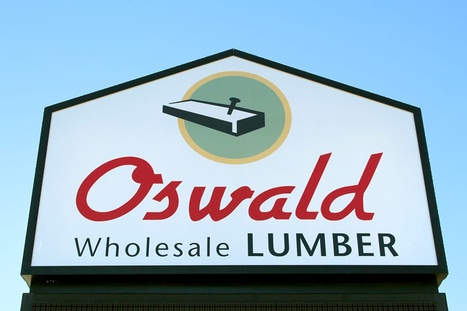Welcome to Oswald Wholesale Lumber!