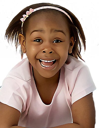 Creative Kids Fort Mill | little girl smiling and having fun