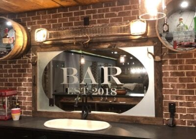 Hartwell Glass & Mirror Sign