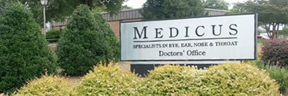 The Hearing Center At Medicus | Anderson, SC | sign